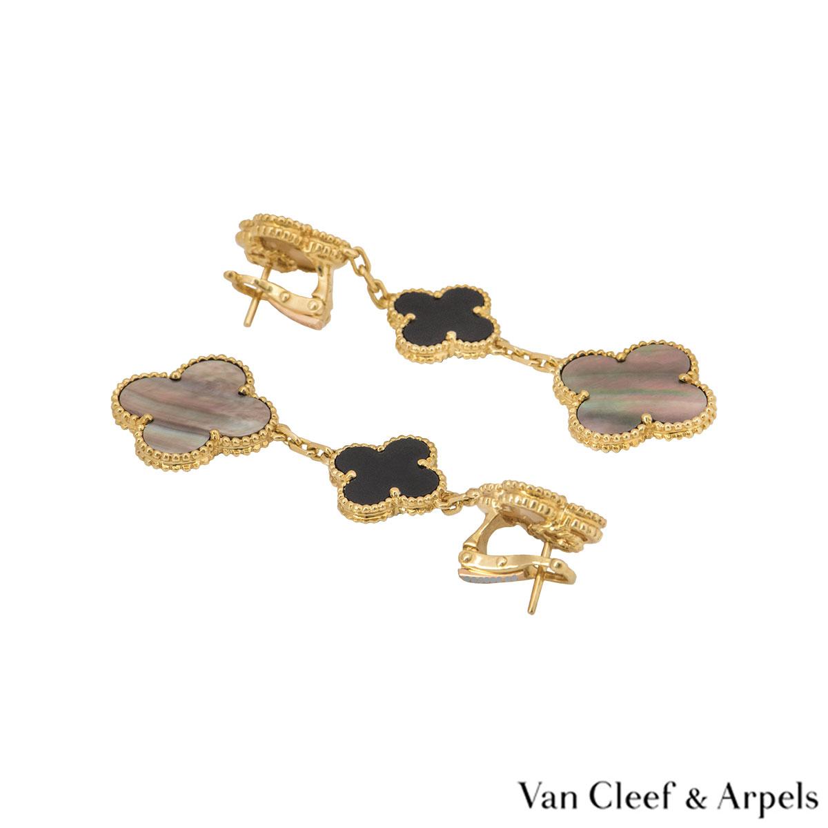 Van Cleef & Arpels Magic Alhambra Earrings VCARD79000